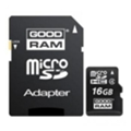 Карты памятиGoodRAM 16 GB microSDHC class 4 + SD Adapter SDU16GHCAGRR9