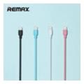 Аксессуары для планшетовREMAX Souffle Lightning Cable Pink (RC-031i)
