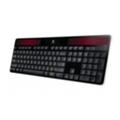 Клавиатуры, мыши, комплектыLogitech Wireless Solar Keyboard K750 Black USB