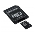 Карты памятиKingston 16 GB microSDHC class 10 + SD Adapter