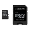 Карты памятиKingston 2 GB microSD + SD adapter