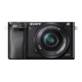 Цифровые фотоаппаратыSony Alpha a6000 16-50 + 55-210 Kit