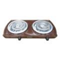 Кухонные плиты и варочные поверхностиТермія ЕПТ 2-2,0/220 (ш) коричневая