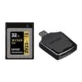 Карты памятиLexar 32 GB XQD 2933X Professional + USB 3.0 reader LXQD32GCRBEU2933BN