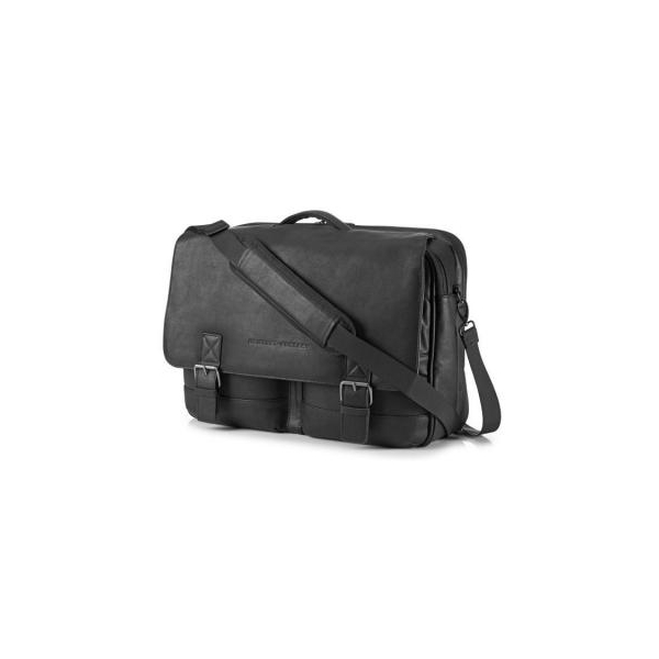 """HP 14"""" Executive Leather Messenger (K0S31AA)"""