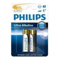 Philips AA bat Alkaline 2шт Ultra Alkaline (LR6E2B/10)