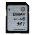 Карты памятиKingston 64 GB SDXC Class 10 UHS-I SD10VG2/64GB