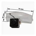 Камеры заднего видаPrime-X CA-1344 штатная камера Mazda 2, 3