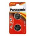 Аккумуляторы, батарейкиPanasonic CR-2016 bat(3B) Lithium 2шт (CR-2016EL/2B)
