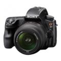 Цифровые фотоаппаратыSony Alpha SLT-A37Y 18-55+55-200 Kit