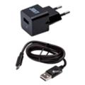 Зарядные устройства для мобильных телефонов и планшетовJust Atom USB Wall Charger (1A/5W, 1USB) Black (WCHRGR-TMMUSB-BLCK)