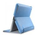 Чехлы и защитные пленки для планшетовSGP Leather Case Leinwand Series for iPad 2 Tender Blue