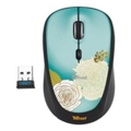 Trust Yvi Wireless Mouse flower Black USB