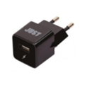 Just Atom USB Wall Charger (1A/5W, 1USB) Black (WCHRGR-TM-BLCK)