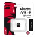Карты памятиKingston 64 GB microSDXC Class 10 UHS-I SDC10G2/64GBSP