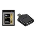 Карты памятиLexar 64 GB XQD 2933X Professional + USB 3.0 reader LXQD64GCRBEU2933BN