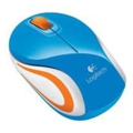 Logitech Wireless Mini Mouse M187 Blue-Orange USB