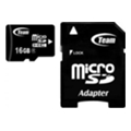 TEAM 16 GB microSDHC Class 4 + SD Adapter TUSDH16GCL403
