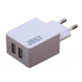 Зарядные устройства для мобильных телефонов и планшетовJust Core Dual USB Wall Charger (3.4A/17W, 2USB) White (WCHRGR-CR-WHT)