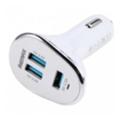 Зарядные устройства для мобильных телефонов и планшетовREMAX 6.3A 3USB Car Charger (White)