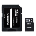 Toshiba 32 GB microSDHC class 4 + SD adapter THN-M102K0320M2