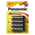 Panasonic AA bat Alkaline 4шт Alkaline Power (LR6REB/4BP)