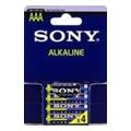 Sony AAA bat Alkaline 4шт (AM4E4X)