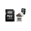Карты памятиGoodRAM 16 GB microSDHC class 10 UHS1 3 in 1 (USDR416GBC10R9)