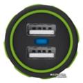 Зарядные устройства для мобильных телефонов и планшетовUrban Revolt Dual Smart Car Charger 2 USB 1 А Lime (6224630)