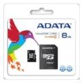 Карты памятиA-data 8 GB microSDHC class 4 + SD adapter