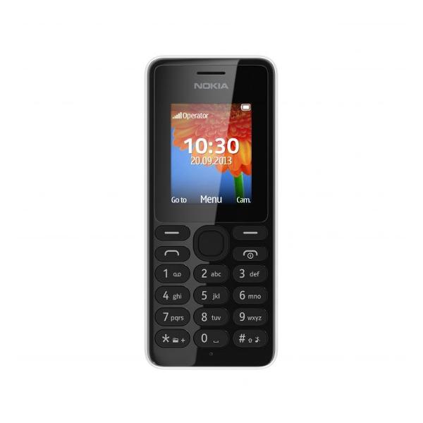 Nokia 108 Dual SIM White