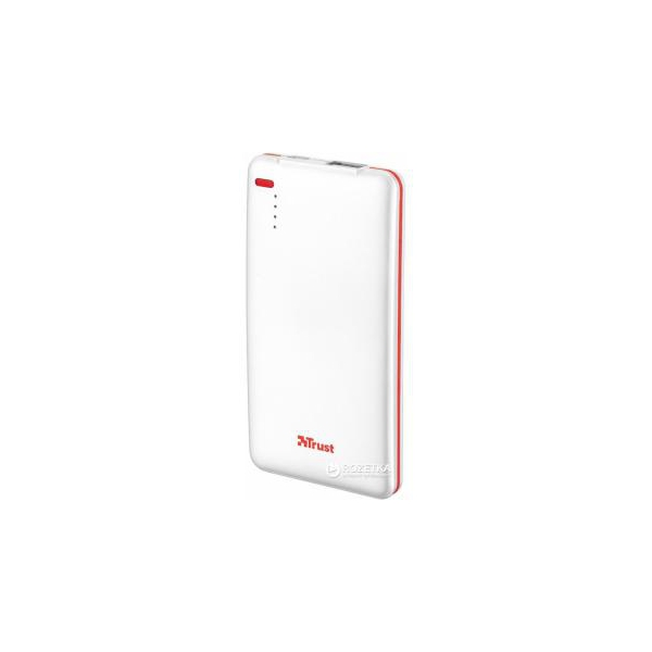 Trust Power bank 4000T Thin portable charger white (20907)