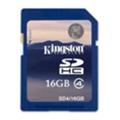 Карты памятиKingston 16 GB SDHC Class 4