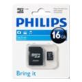 Philips 16 GB microSDHC class 4 + SD Adapter FM16MA35B/97