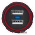 Зарядные устройства для мобильных телефонов и планшетовUrban Revolt Dual Smart Car Charger 2 USB 1 А Red (6224631)