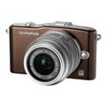 Цифровые фотоаппаратыOlympus PEN E-PM1 12-50 Kit