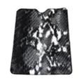 """Чехлы и защитные пленки для планшетовDrobak 9.7-10.1"""" Universal Сrocodile Black (216828)"""