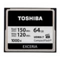 Карты памятиToshiba 64 GB Compact Flash 1000X (CF-064GTGI(8)