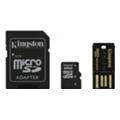 Карты памятиKingston 32 GB microSDHC class 4 Mobility Kit MBLY4G2/32GB