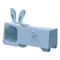 Аксессуары для планшетовOzaki Подставка O!music Zoo Rabbit Blue for iPhone 5 (OM936RA)