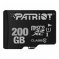 Карты памятиPatriot 200 GB microSDXC UHS-I + SD adapter PSF200GMCSDXC10