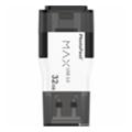 USB flash-накопителиPhotoFast 32 GB i-Flashdrive Max Gen2 White (IFDMAXG232GB)