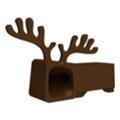 Аксессуары для планшетовOzaki Подставка O!music Zoo Deer Brown for iPhone 5 (OM936DA)