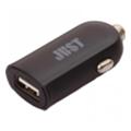 Зарядные устройства для мобильных телефонов и планшетовJust Me2 USB Car Charger (2.4A/12W, 1USB) Black (CCHRGR-M2-BLCK)