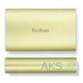 Портативные зарядные устройстваYoobao Power Bank 10200mAh Magic Wand YB-6013 Pro Green