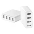 Зарядные устройства для мобильных телефонов и планшетовXiaomi Mi USB Multiple hub 4 USB White