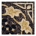 Керамическая плиткаVives CANT LAERTES-PR NEGRO декор