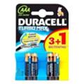 Duracell AAA bat Alkaline 3+1шт Turbo Max