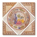 Керамическая плиткаEmil Ceramica Tinta Unita (35Х35) C27D14H Affresco Pompeiano Pannello