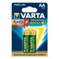 Аккумуляторы, батарейкиVarta AA 2500mAh NiMh 2шт PROFESSIONAL (05716101402)